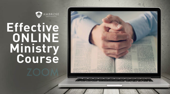 Effective Online Ministry